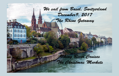 Our Journey Begins in Basel, Switzerland