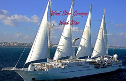 Luxury Yacht Cruising on Wind Star